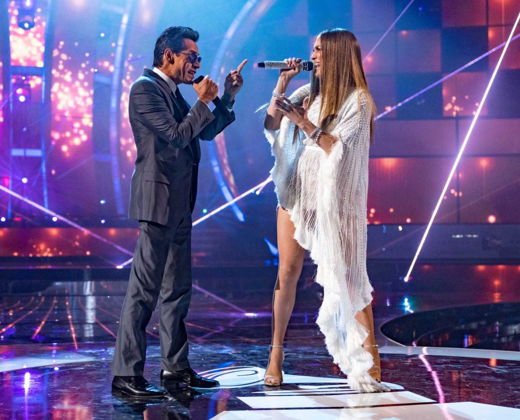 Marc Anthony and Jennifer Lopez | Christopher Polk/Getty Images for LARAS
