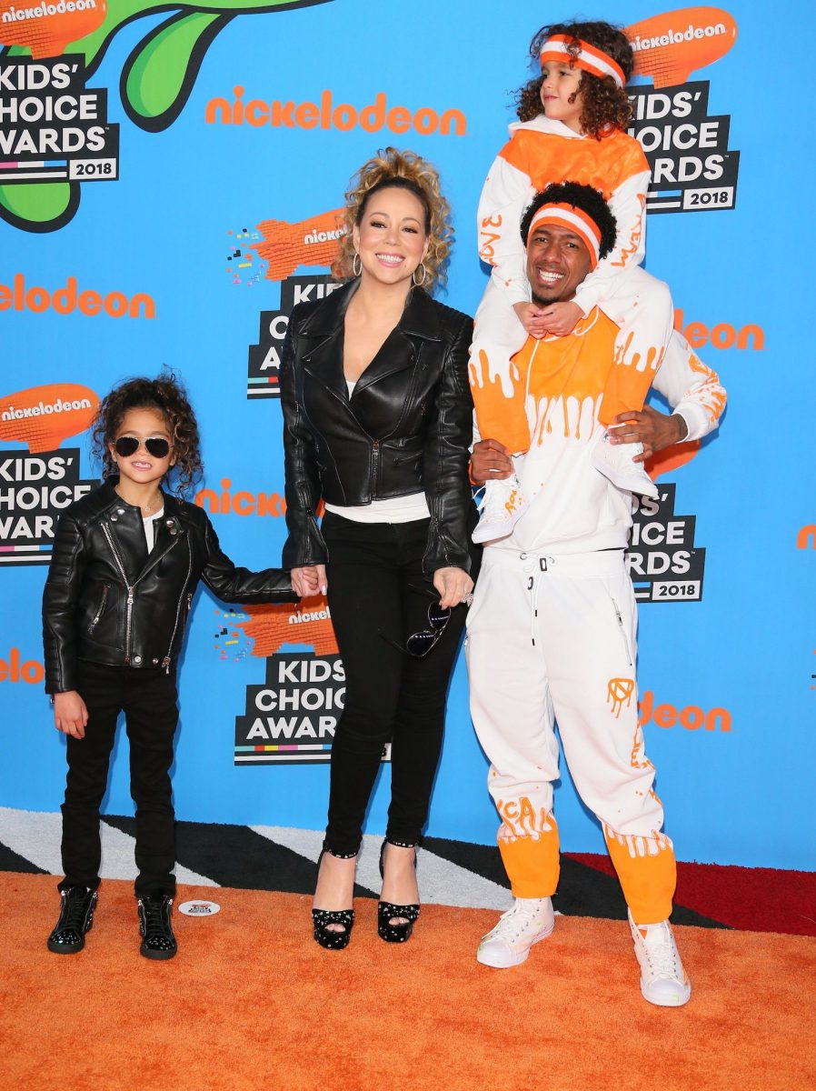 Mariah Carey, Nick Cannon, and their kids