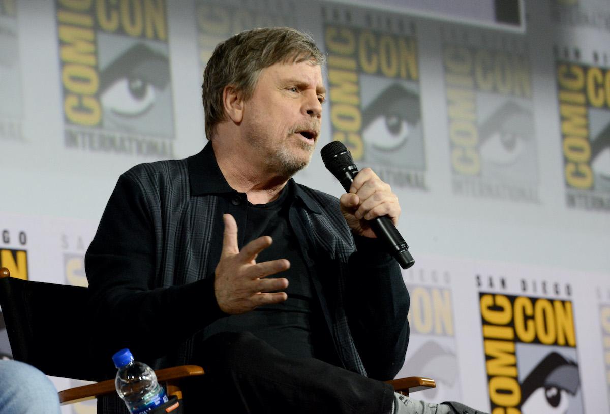 Mark Hamill at San Diego Comic-Con