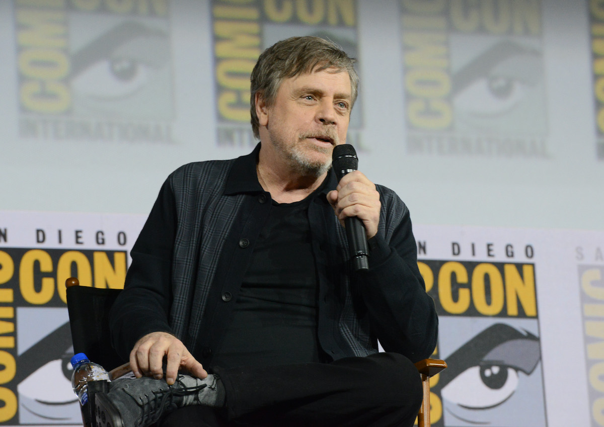 Mark Hamill at the 2019 San Diego Comic-Con