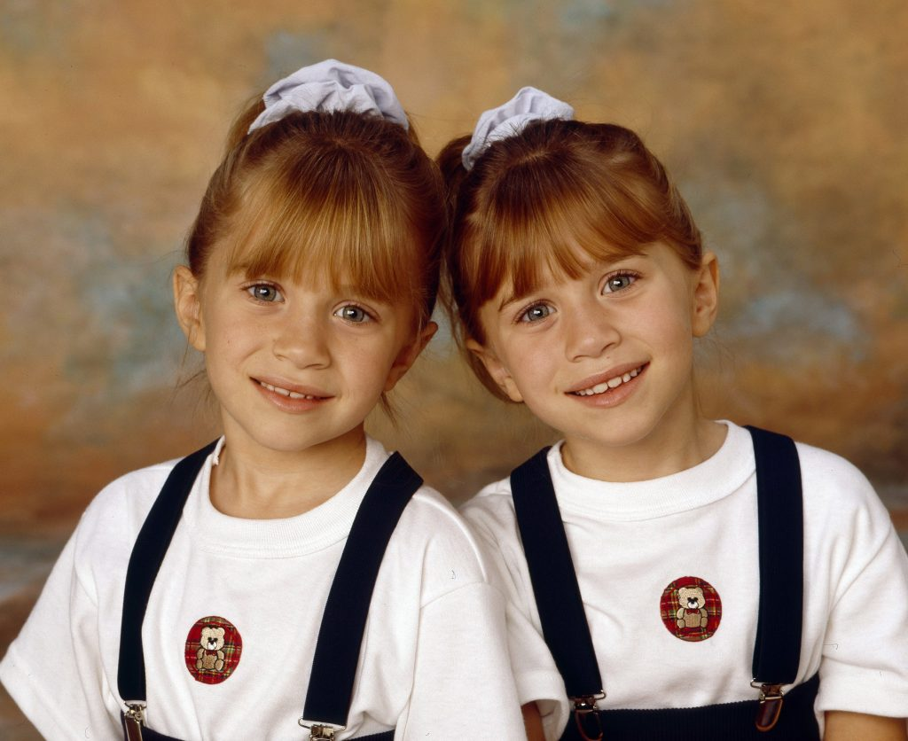 Mary-Kate and Ashley Olsen of 'Full House'