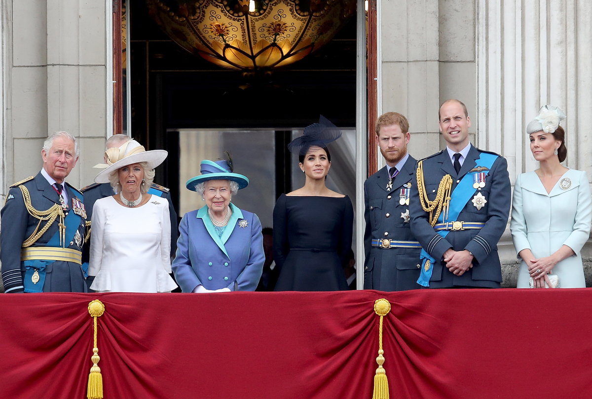 Meghan Markle Prince Harry royal family