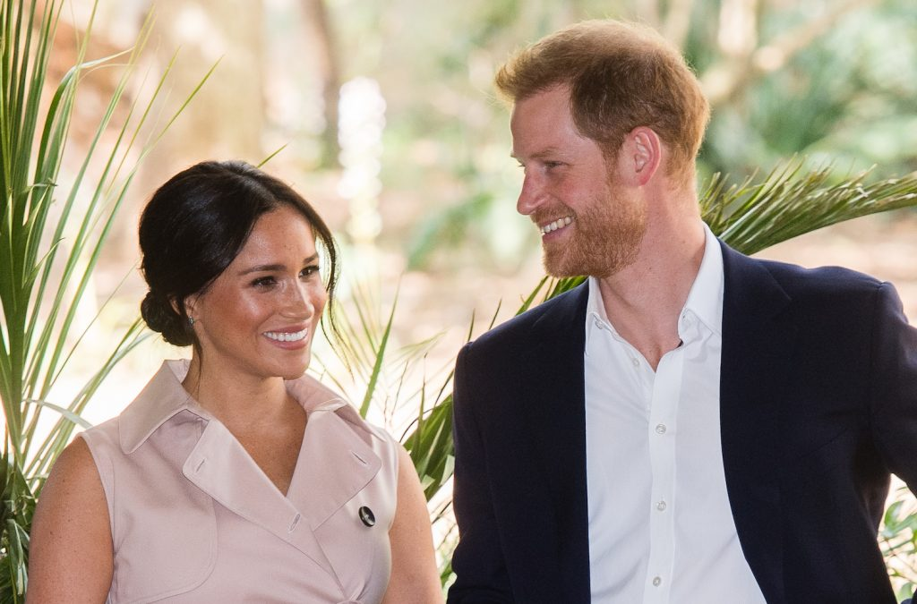 Meghan Markle and Prince Harry visit Johannesburg, South Africa