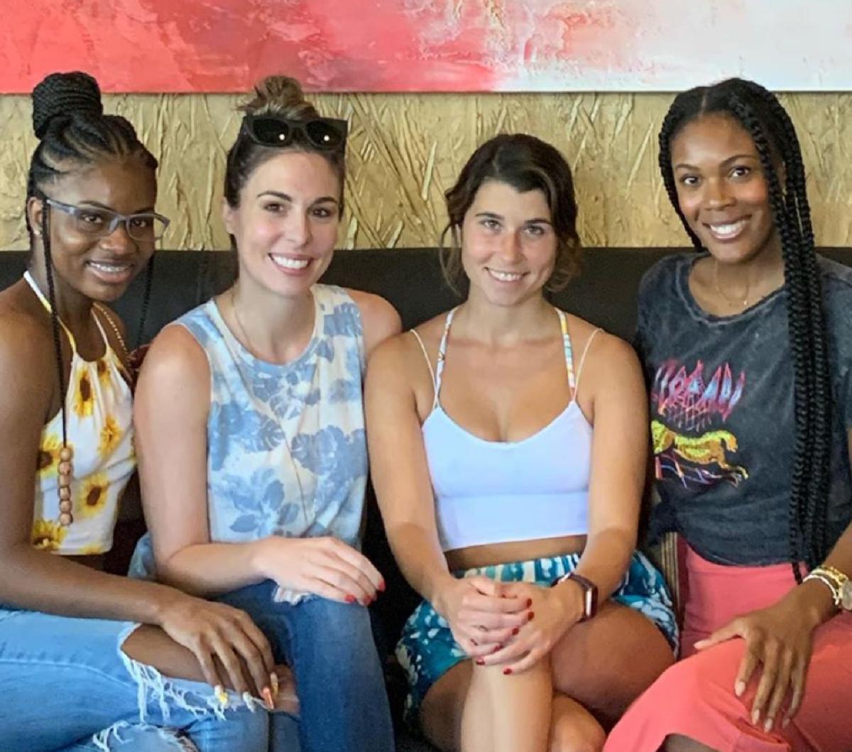 Meka Jones, Mindy Shiben, Amber Bowles, and Iris Caldwell