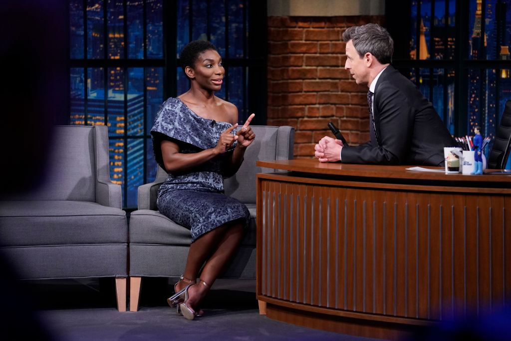 Michaela Coel Recalls 'Friction' on the Set of 'Chewing Gum'
