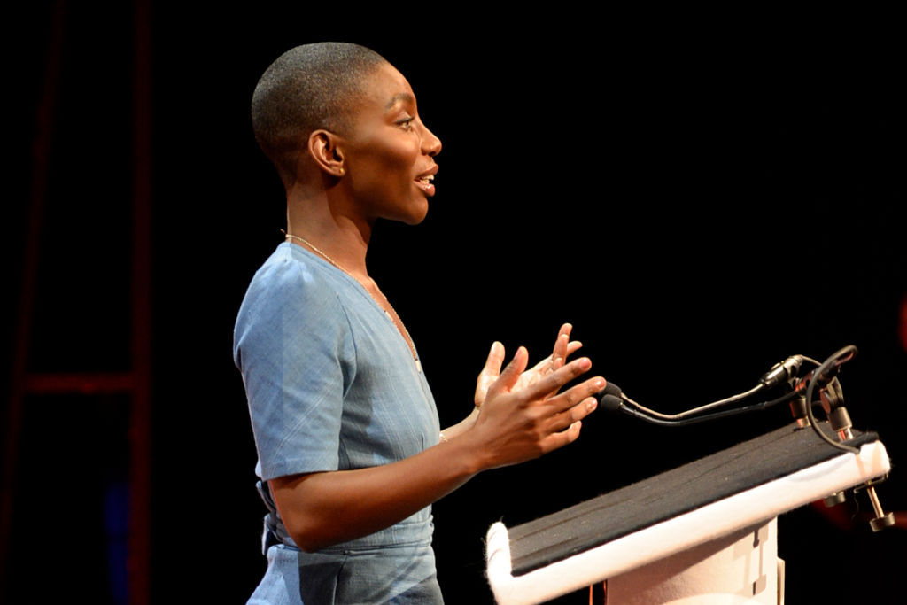 Michaela Coel of Chewing Gum and I May Destroy You