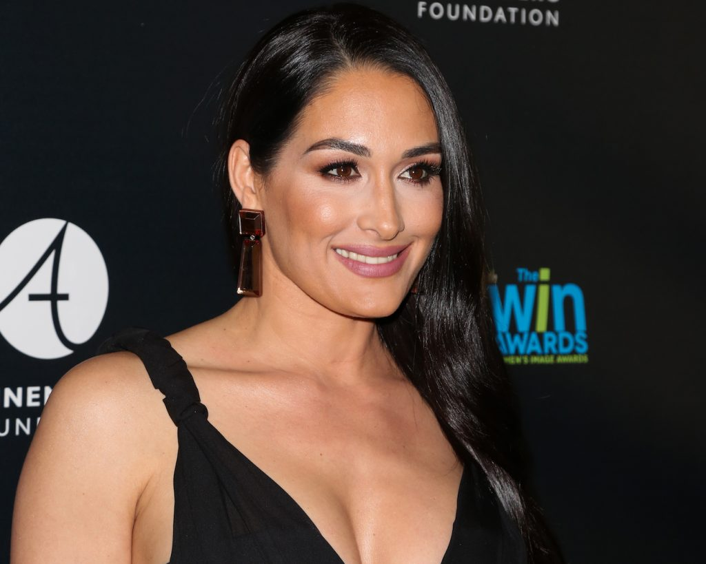 Nikki Bella attends the 20th Annual Women's Image Awards at the at Montage Beverly Hills