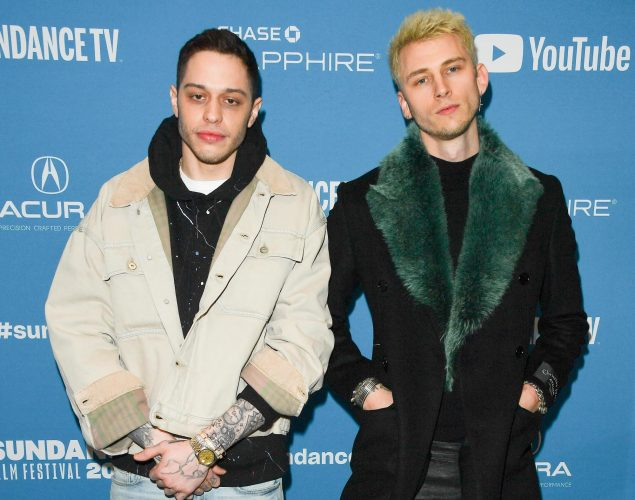 Machine Gun Kelly Just Called Pete Davidson's Relationship With Ariana Grande a 'Symbol of Hope' — Here's Why