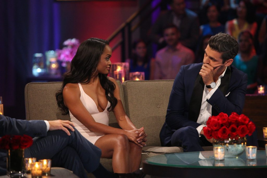 Rachel Lindsay and Peter Kraus from 'The Bachelorette'