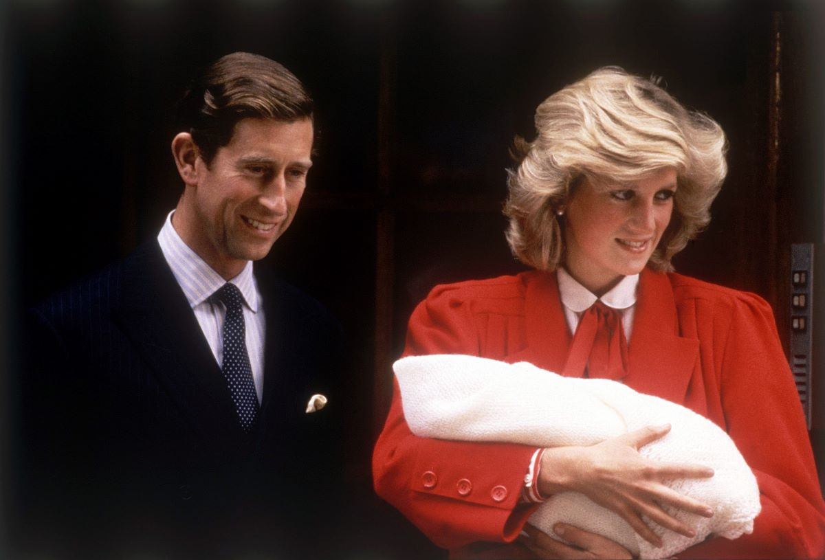 Prince Charles Princess Diana and Harry