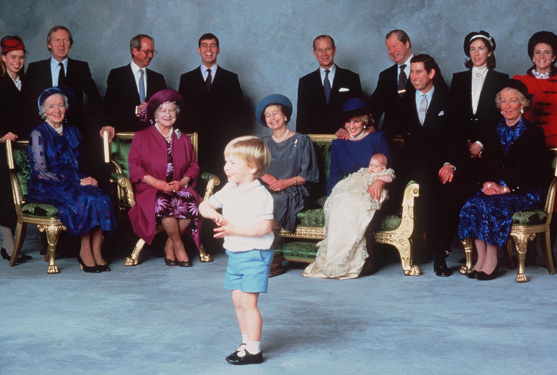 Prince Harry baptism