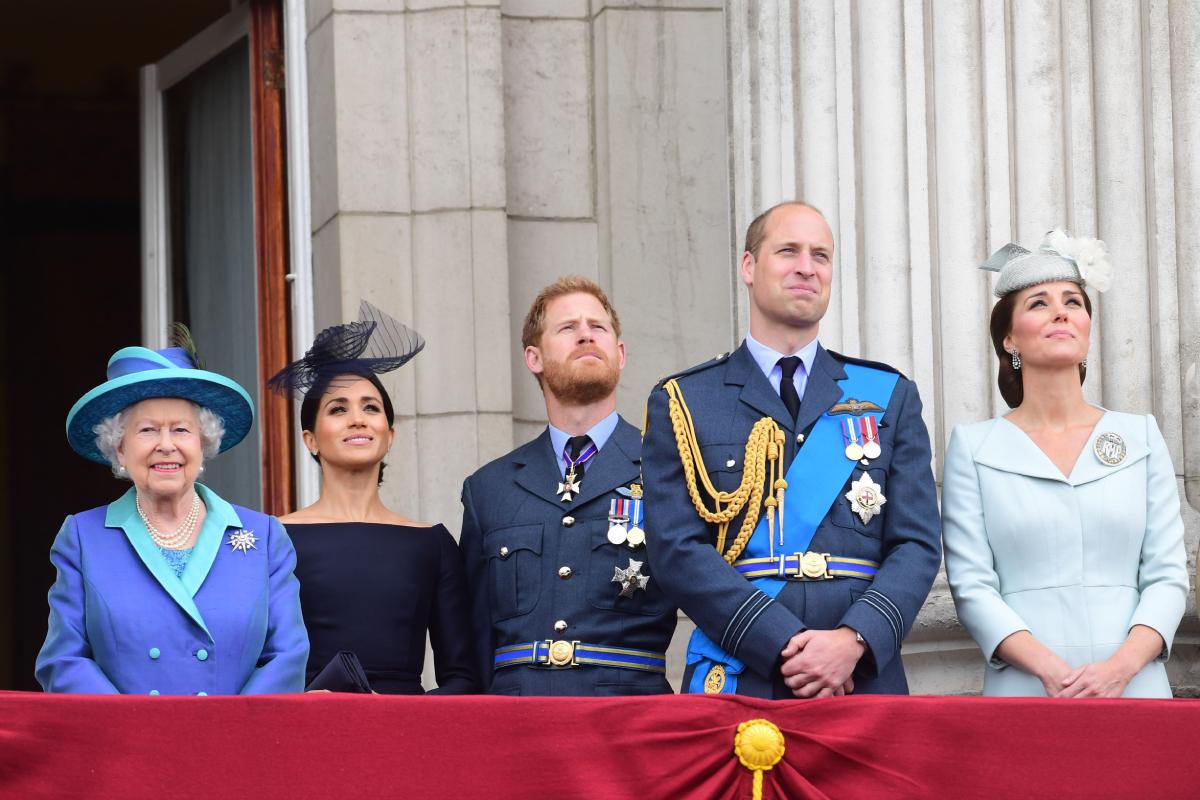 Queen Elizabeth Meghan Markle Kate Middleton