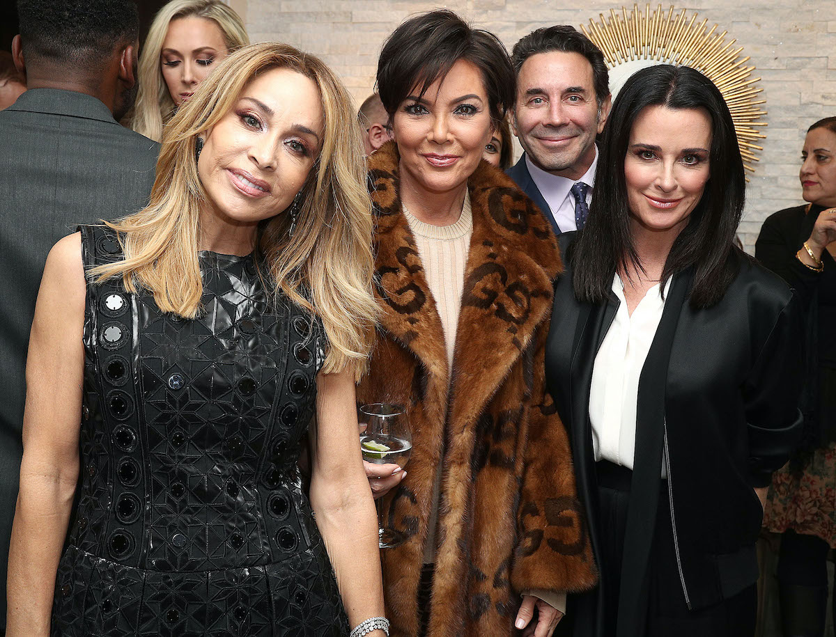 Faye Resnick, Kris Jenner, Dr. Paul Nassif and Kyle Richards
