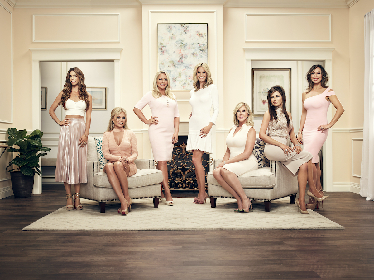 Lydia McLaughlin, Tamra Judge, Shannon Beador, Meghan King Edmonds, Vicki Gunvalson, Peggy Sulahian, Kelly Dodd