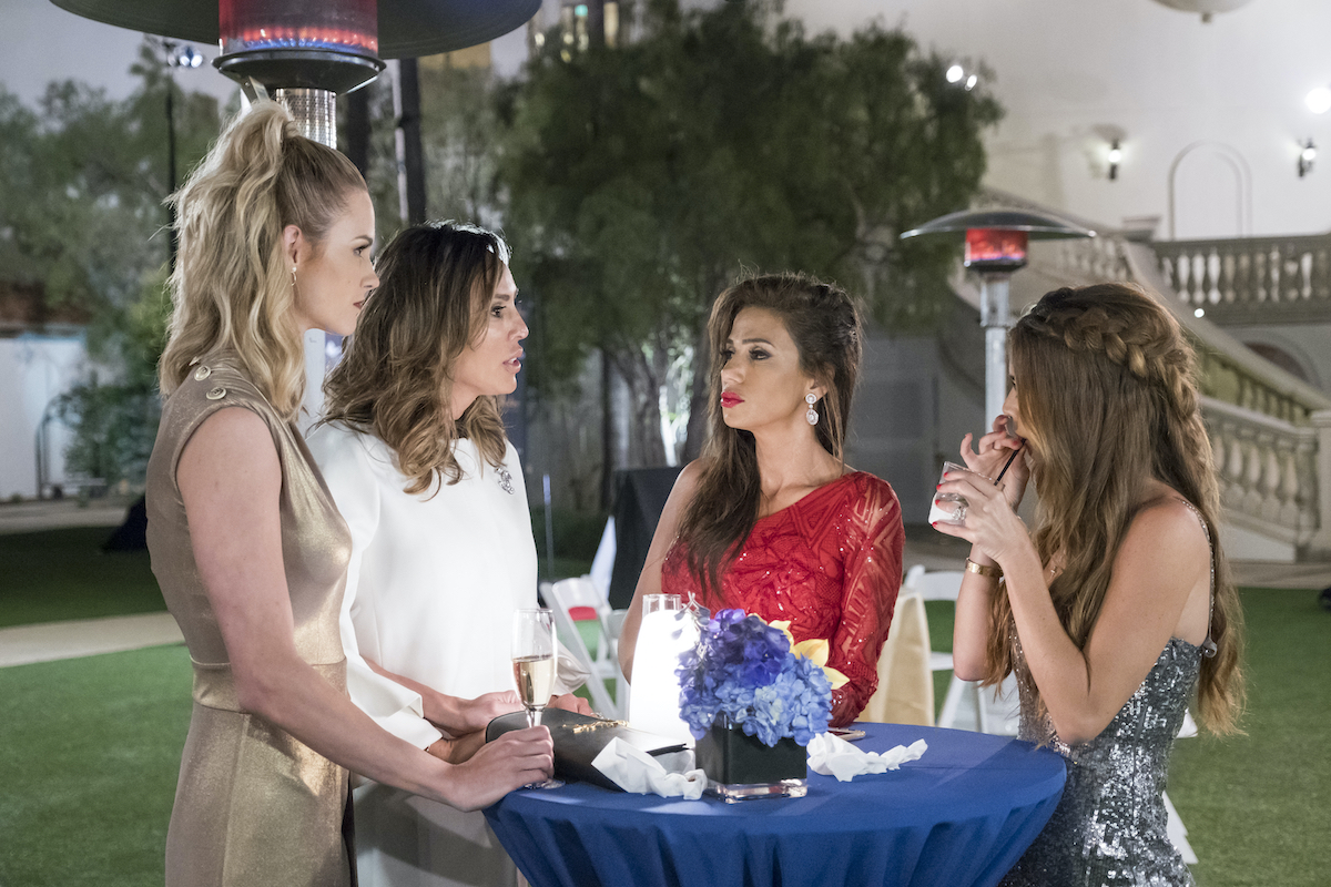 Meghan King Edmonds, Kelly Dodd, Peggy Sulahian, Lydia McLaughlin