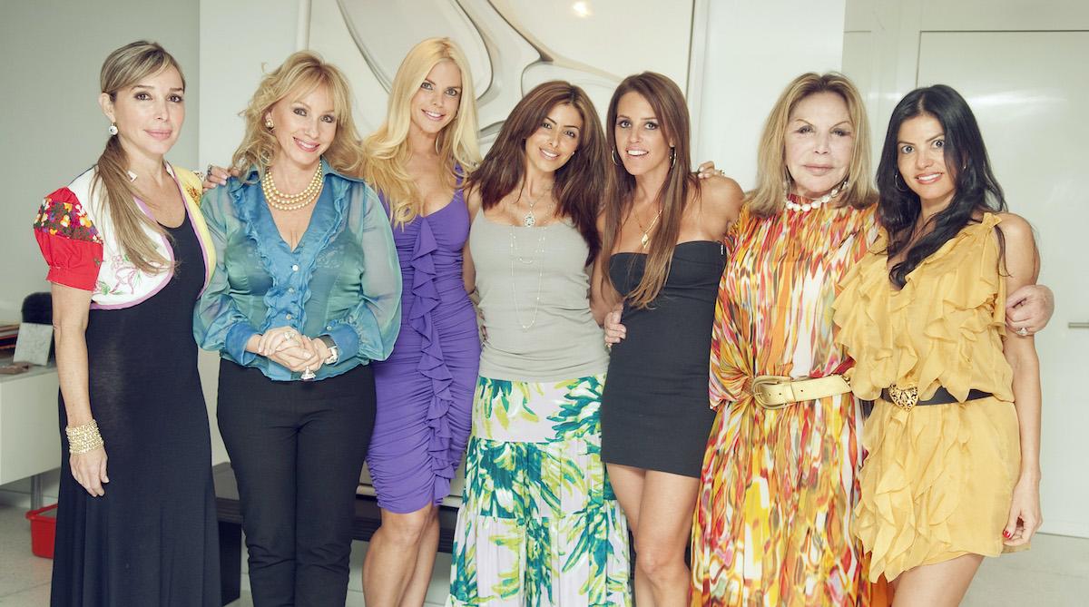 Marysol Patton, Lea Black, Alexia Echevarria, Larsa Pippen, Cristy Rice, Elsa Patton, Adriana De Moura