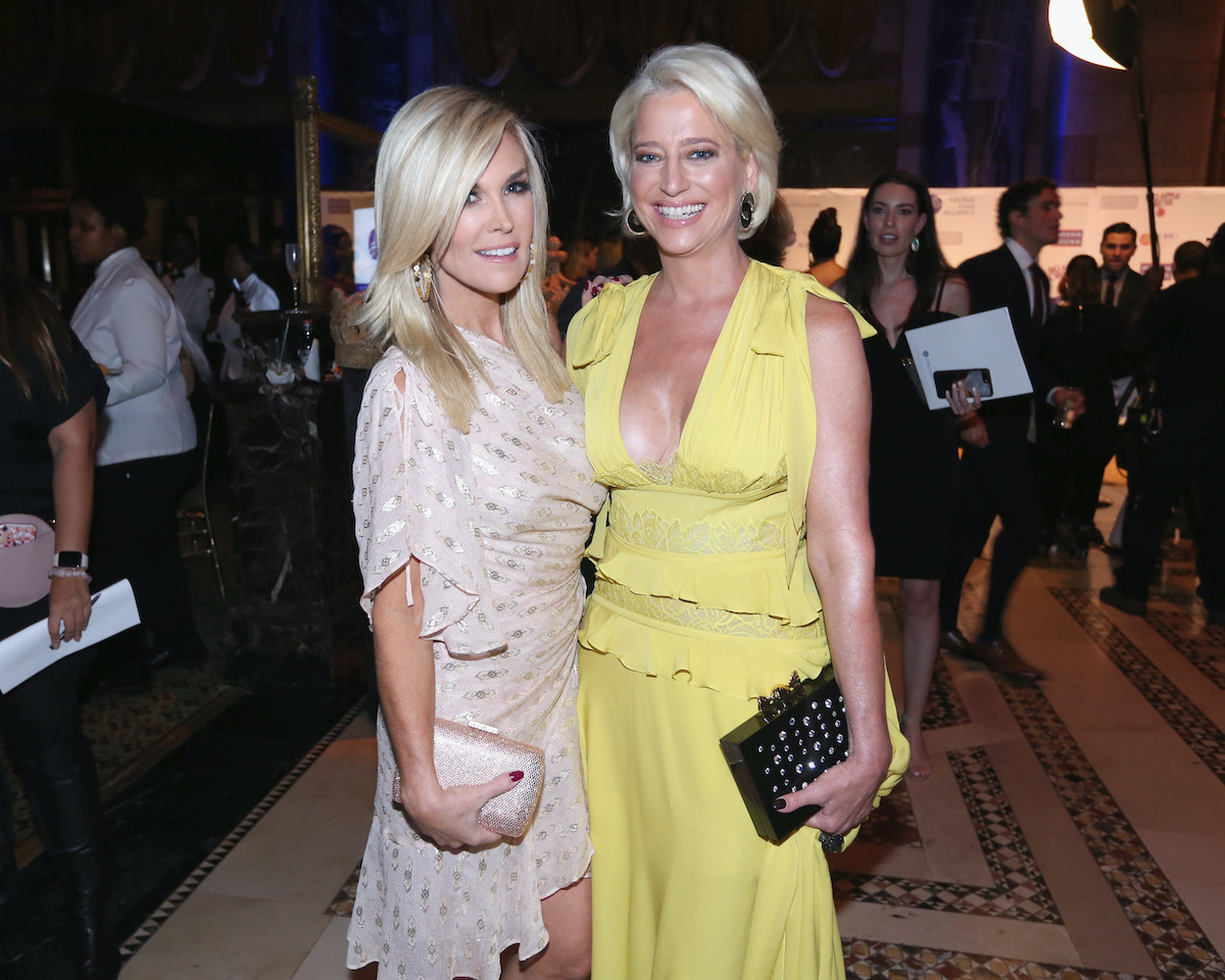 Tinsley Mortimer and Dorinda Medley