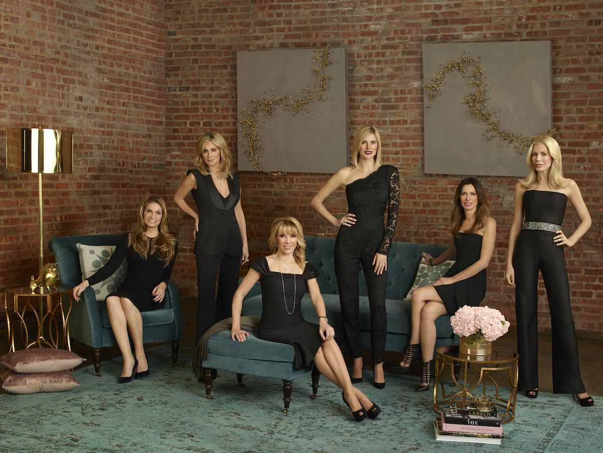 Heather Thomson, Sonja Morgan, Ramona Singer, Kristen Taekman, Carole Radziwill, Aviva Drescher