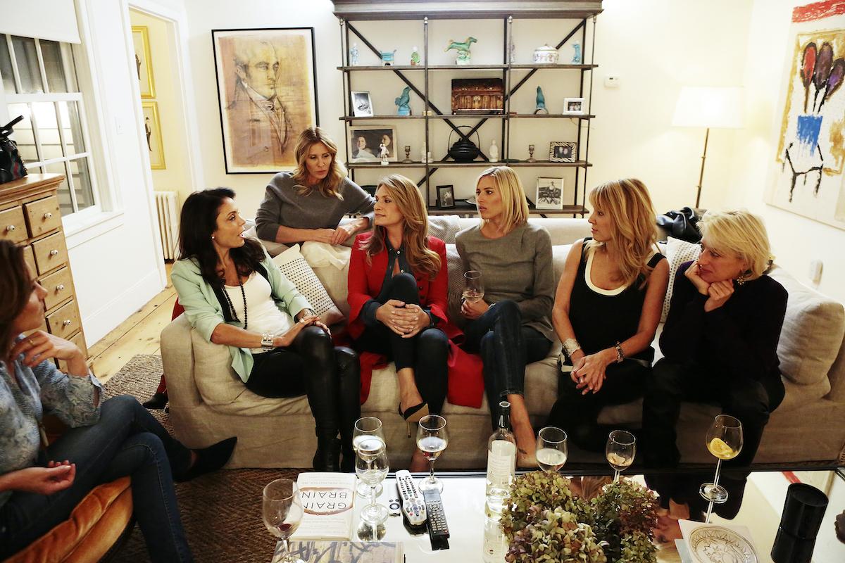 Luann De Lesseps, Bethenny Frankel, Carole Radziwill, Heather Thomson, Kristen Taekman, Ramona Singer, Dorinda Medley