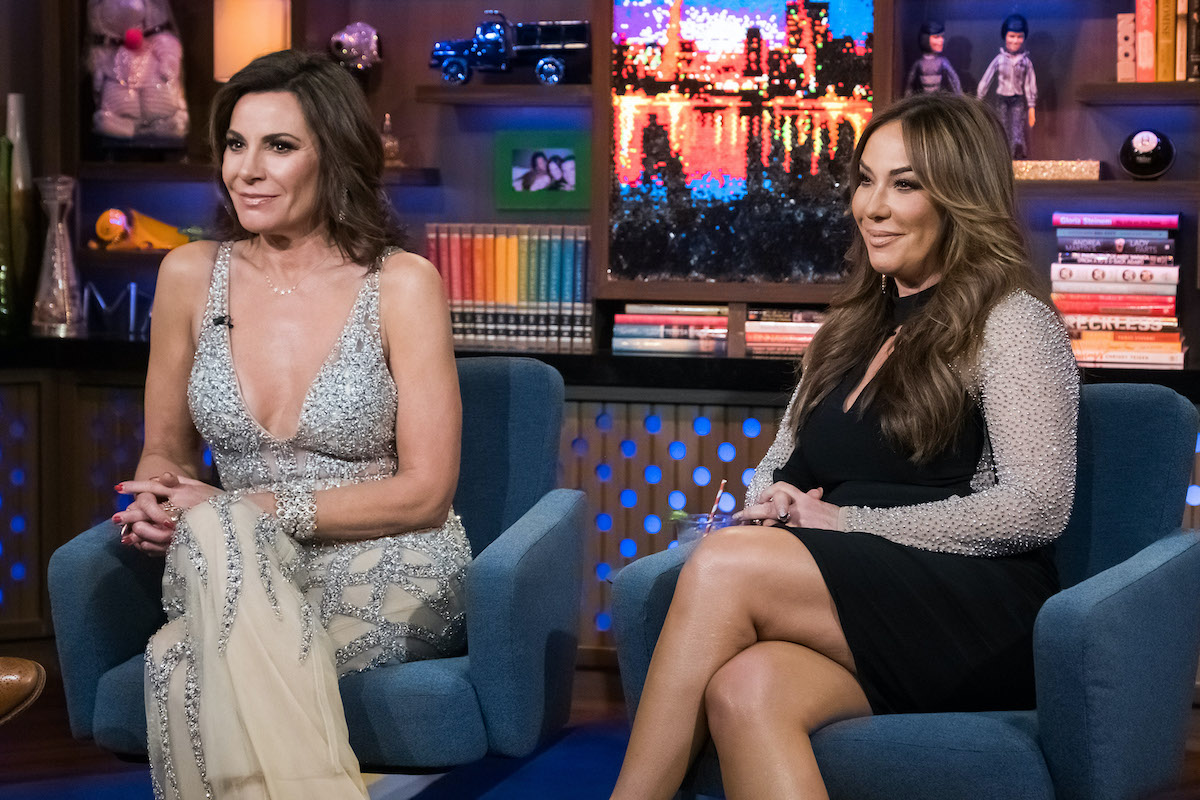 Luann de Lesseps and Barbara Kavovit