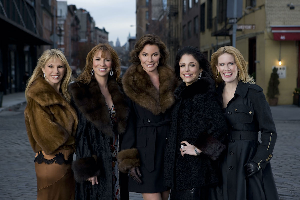 Ramona Singer, Jill Zarin, Lu-Ann de Lesseps, Bethenny Frankel, Alex McCord