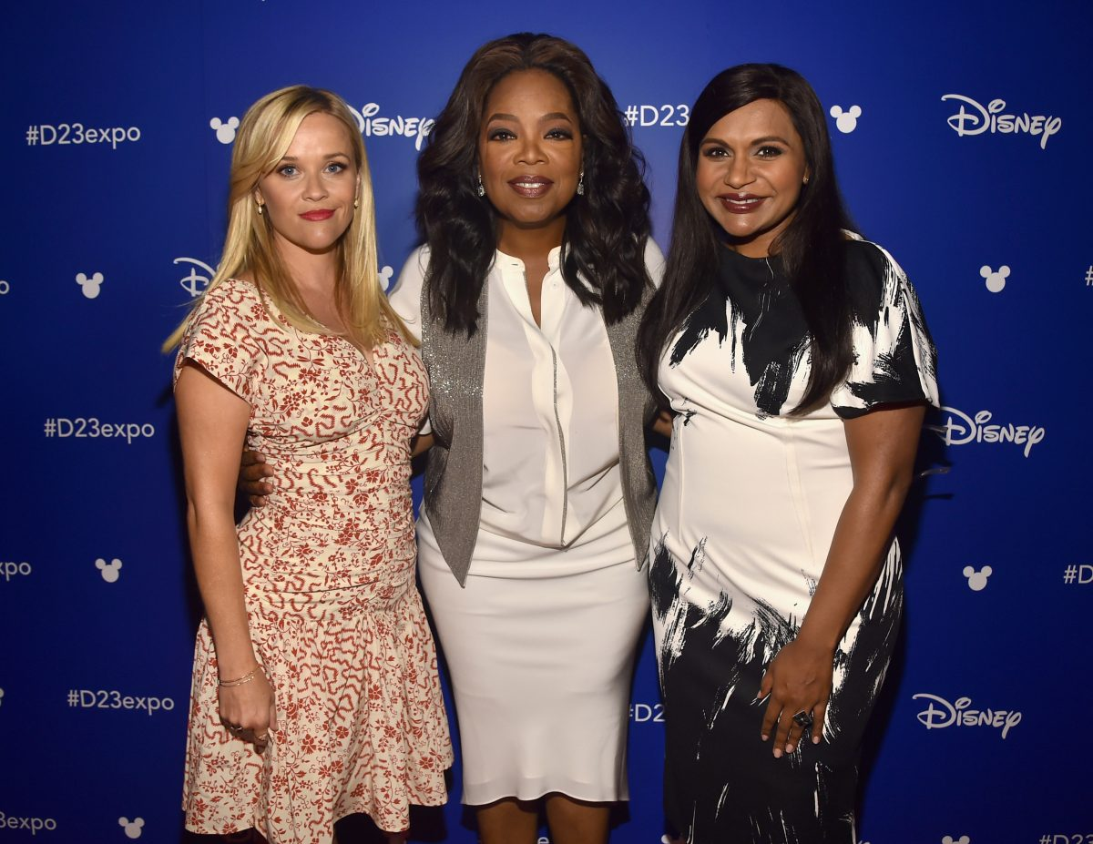 Reese Witherspoon, Oprah, and Mindy Kaling