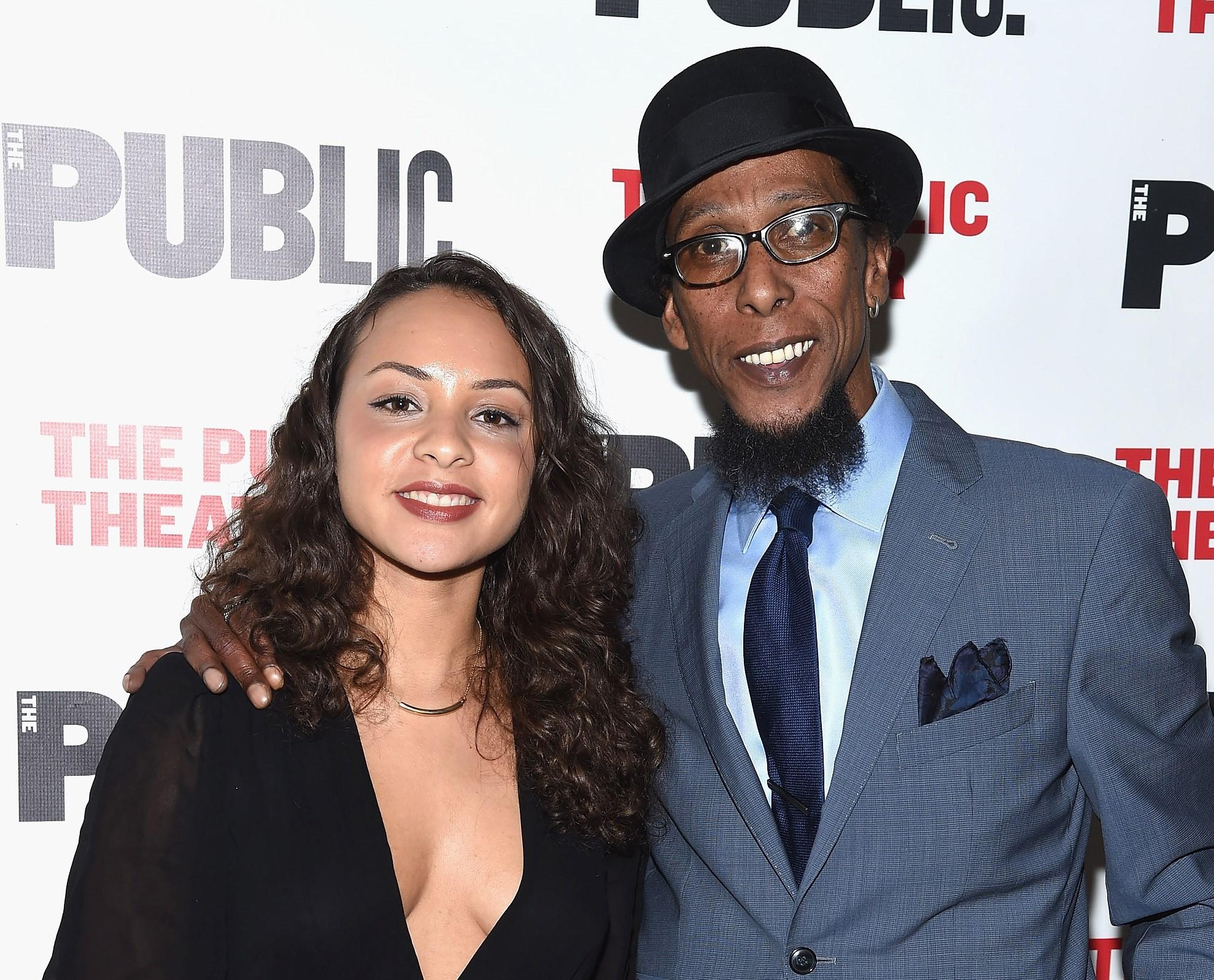 Jasmine Cephas Jones and Ron Cephas Jones