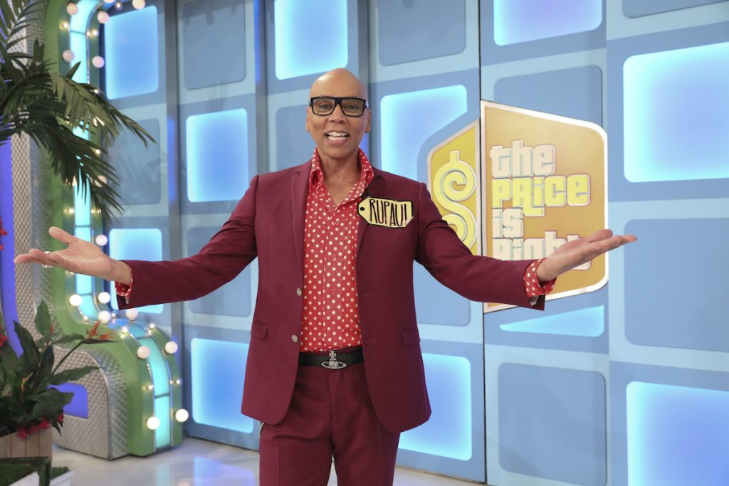 RuPaul on The Price is Right