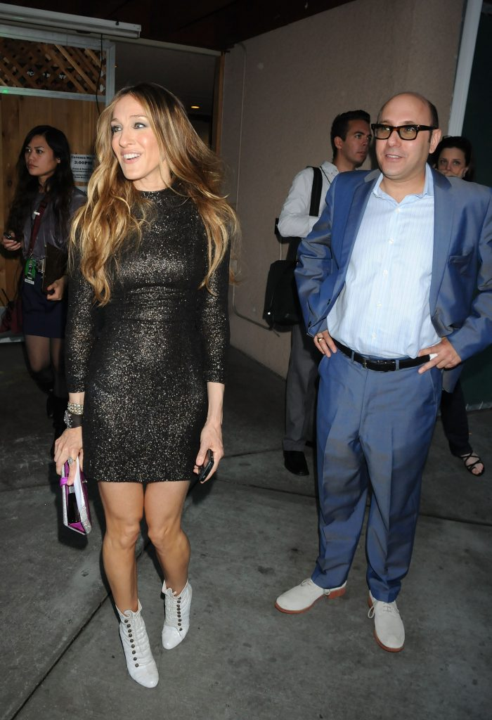 Willie Garson and Sarah Jessica Parker attend the 2008 MTV Movie Awards