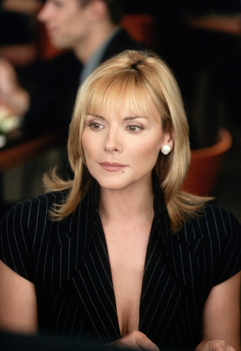 Kim Cattrall as Samantha Jones in 'Sex and the City'