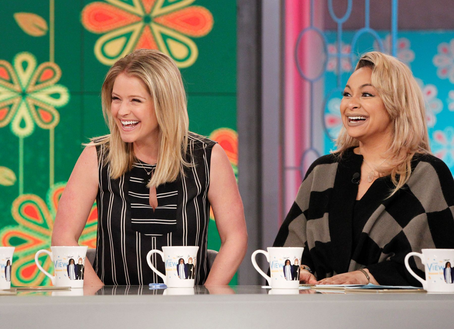 Sarah Haines and Raven Symone on The View