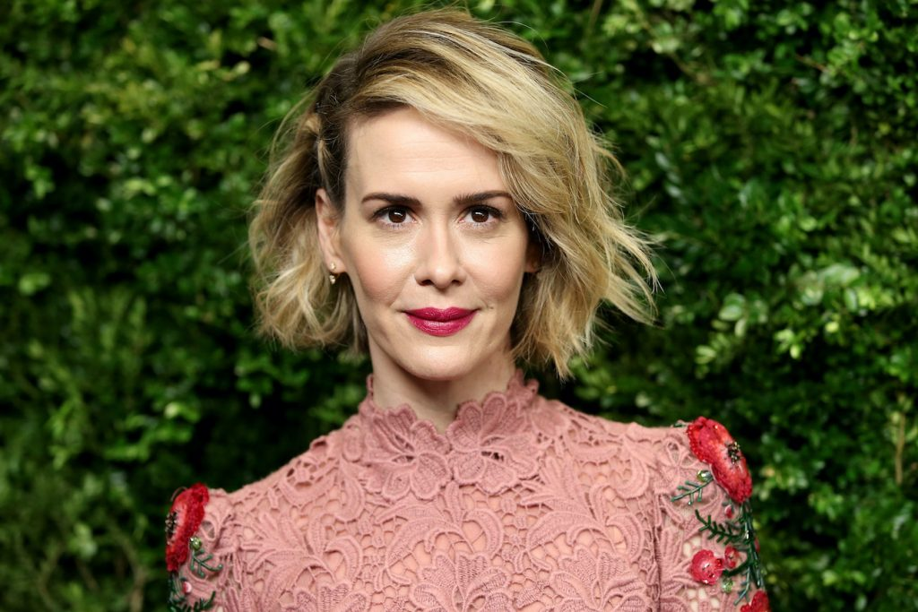 Sarah Paulson from Ratched Netflix