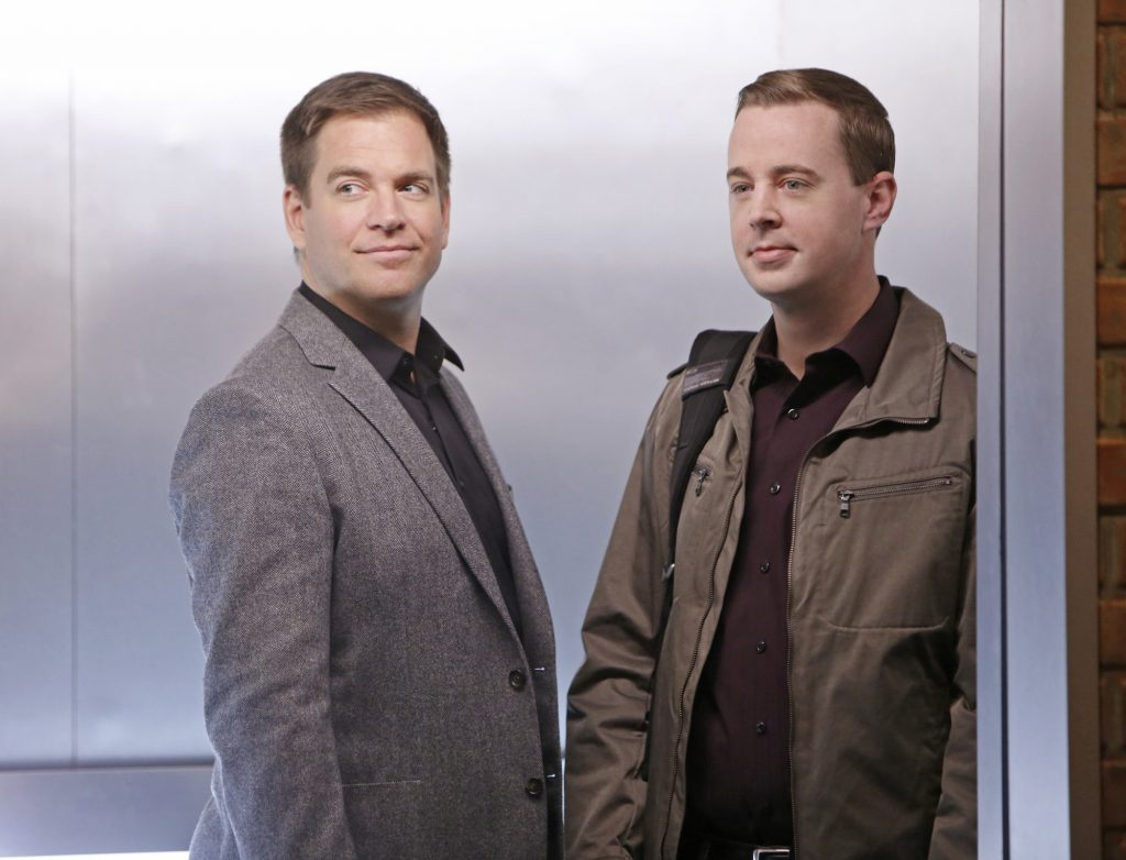 NCIS Sean Murray and Michael Weatherly
