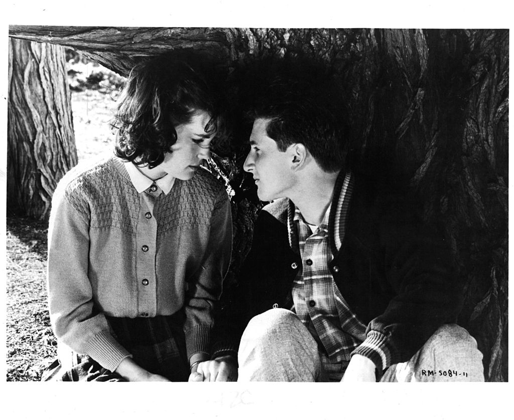 Elizabeth McGovern and Sean Penn in a scene from the film Racing With The Moon