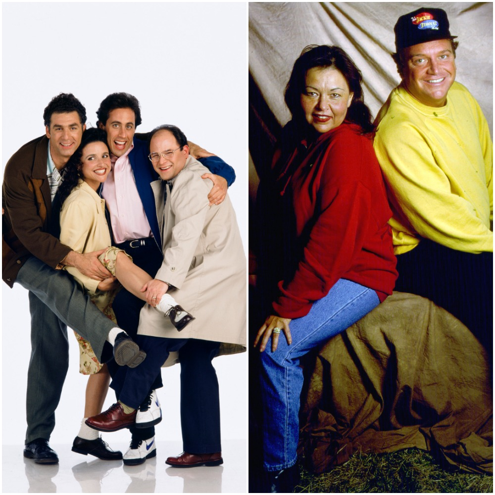 Seinfeld and Roseanne