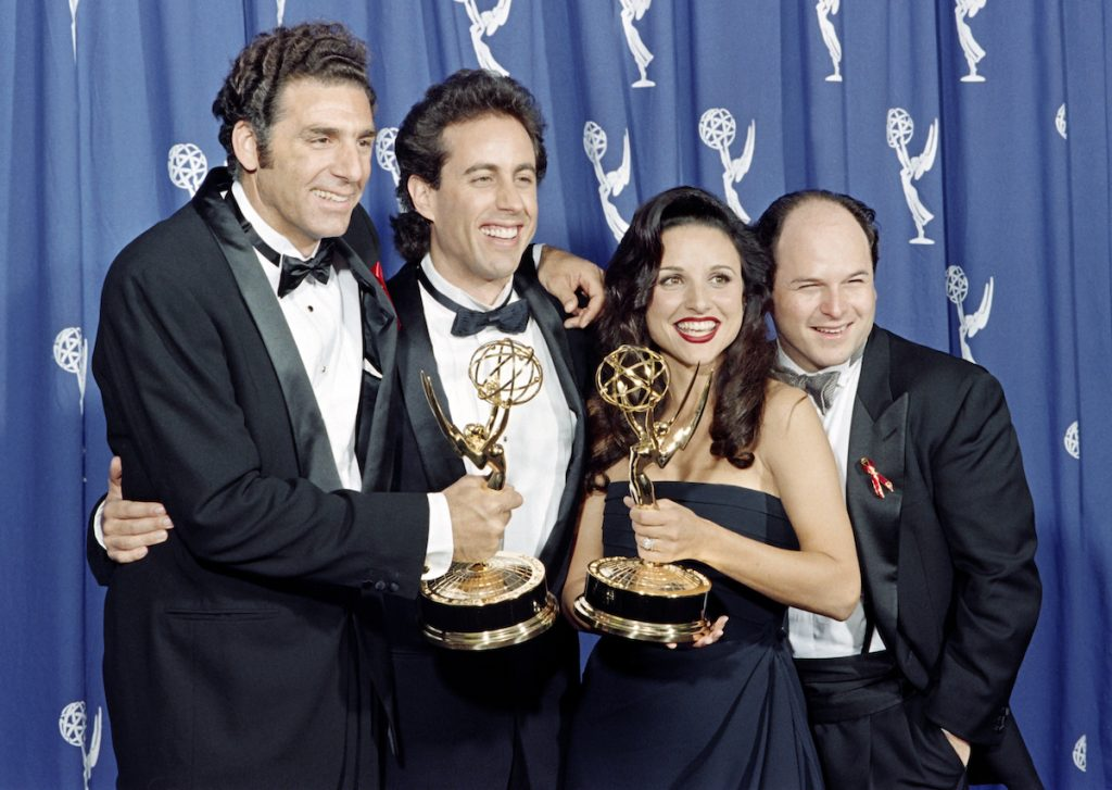The 'Seinfeld' cast in 1993