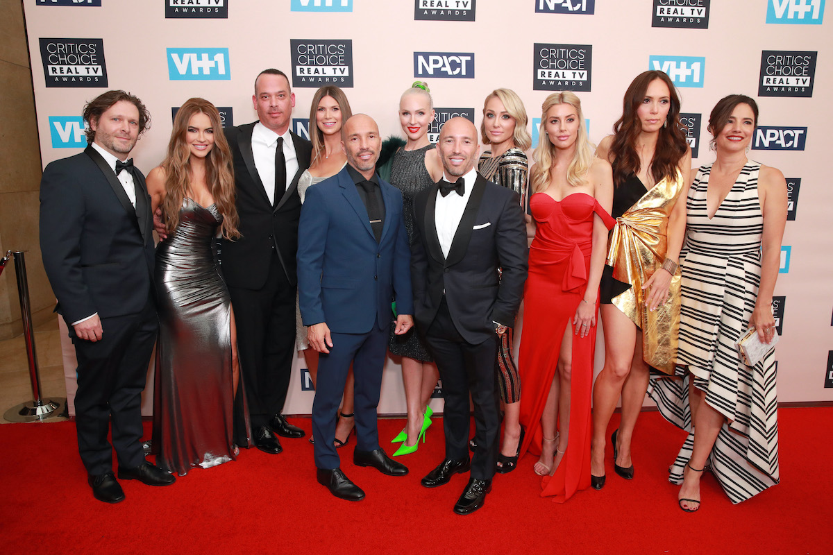 The cast of 'Selling Sunset' attend the Critics' Choice Real TV Awards