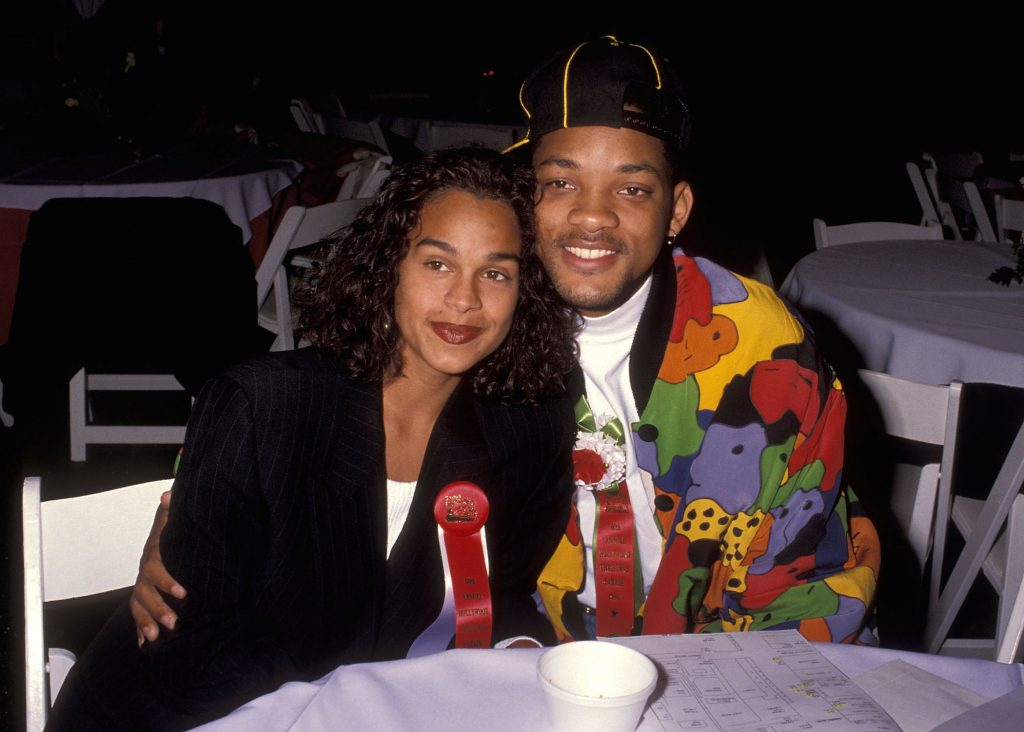 Will Smith and Sheree Zampino attend the 60th Annual Hollywood Christmas Parade on Dec. 1, 1991