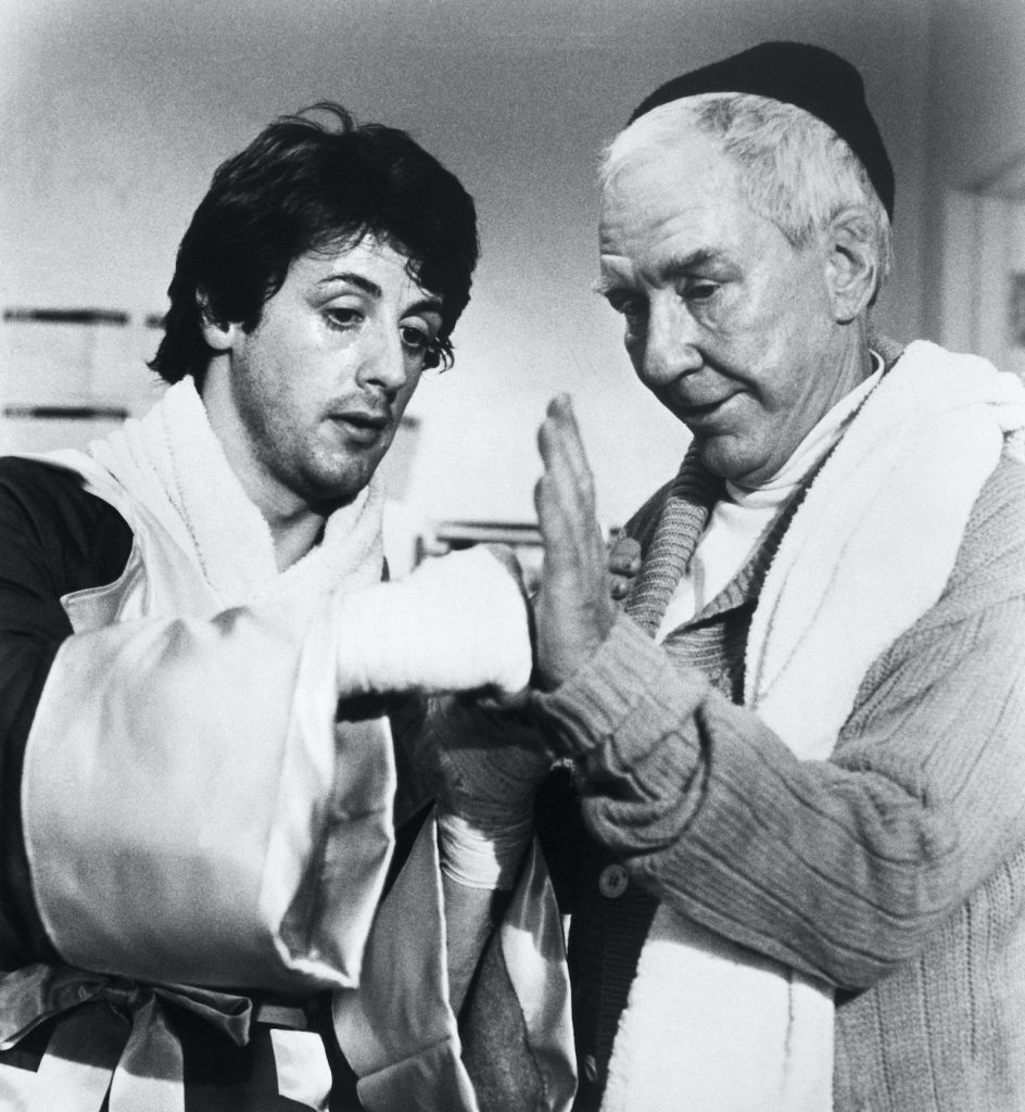 Stallone and Meredith Rocky