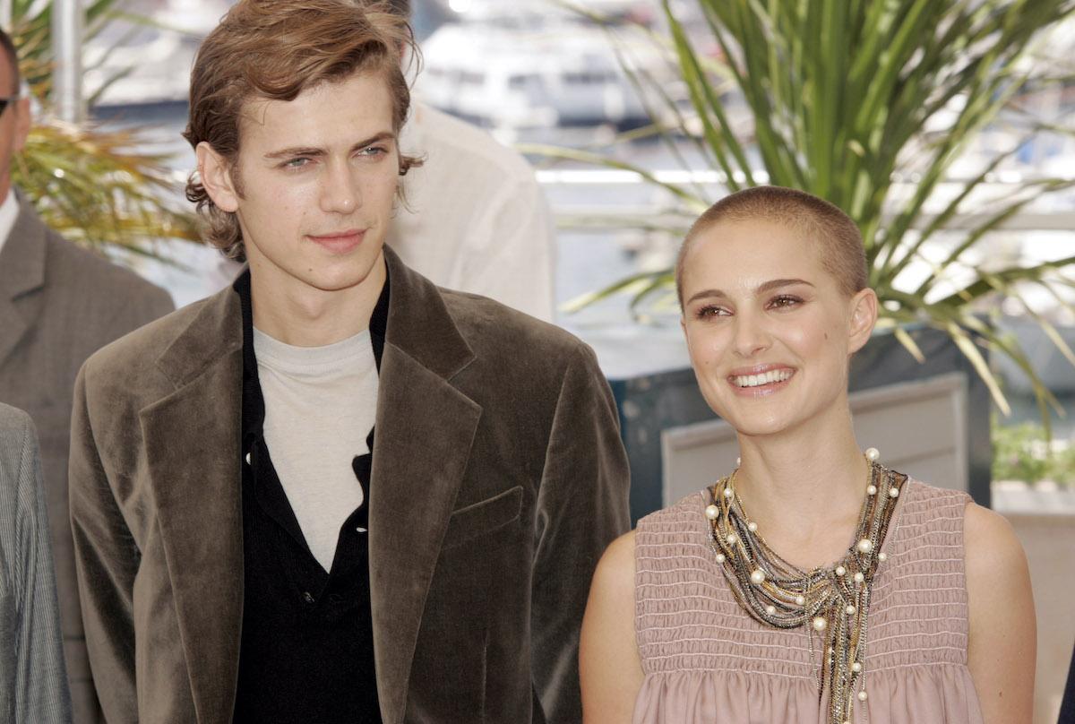 Hayden Christensen and Natalie Portman