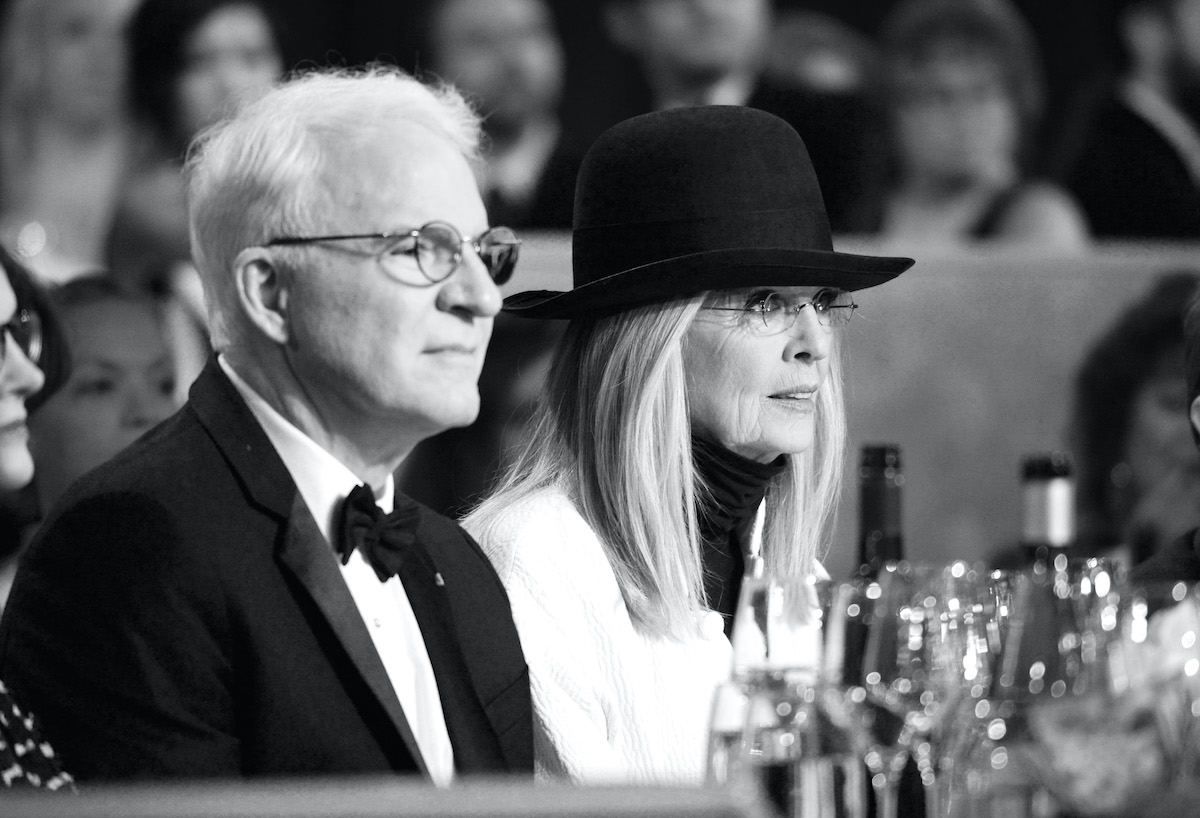 Steve Martin and Diane Keaton