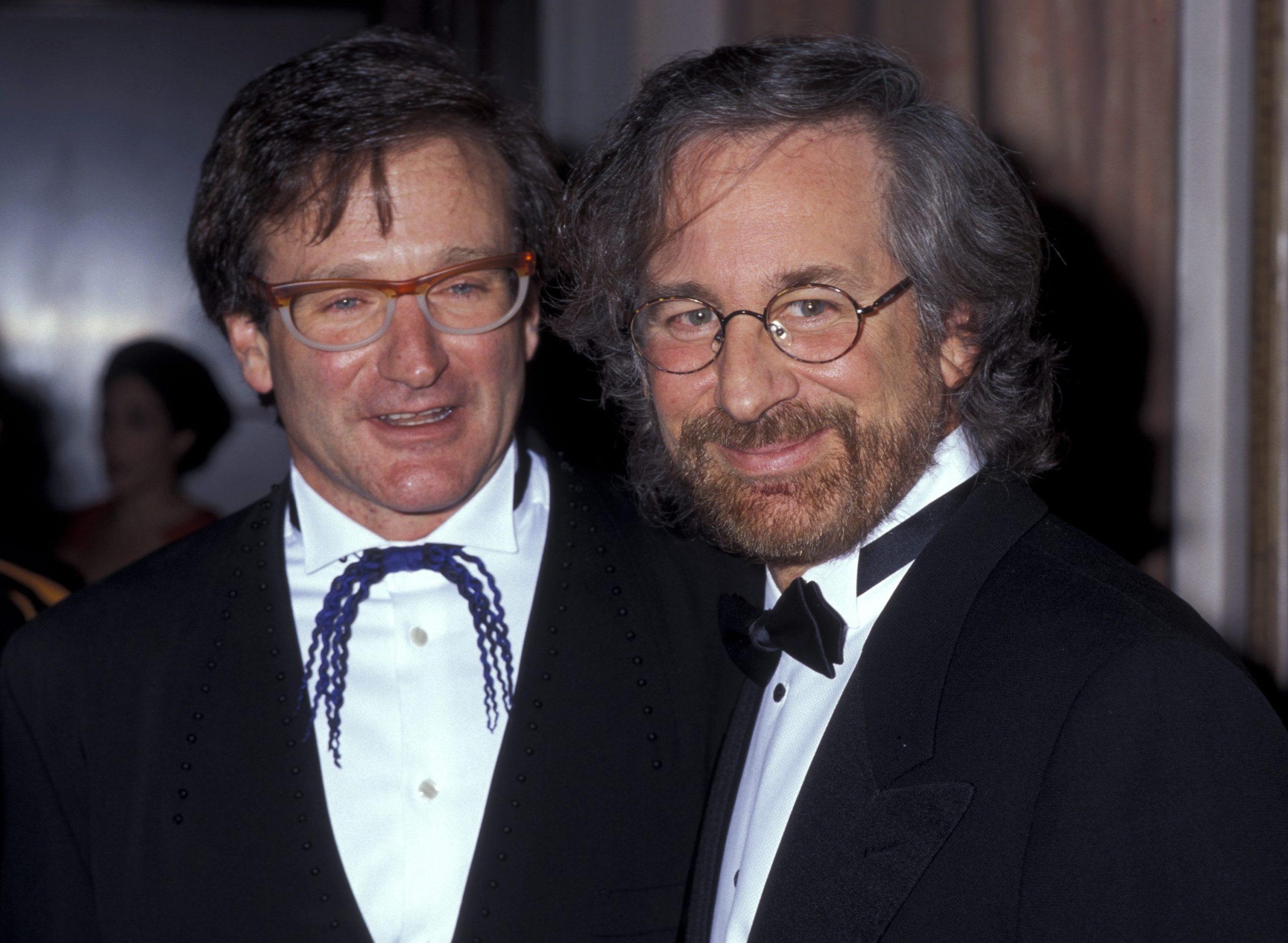 Steven Spielberg and Robin Williams