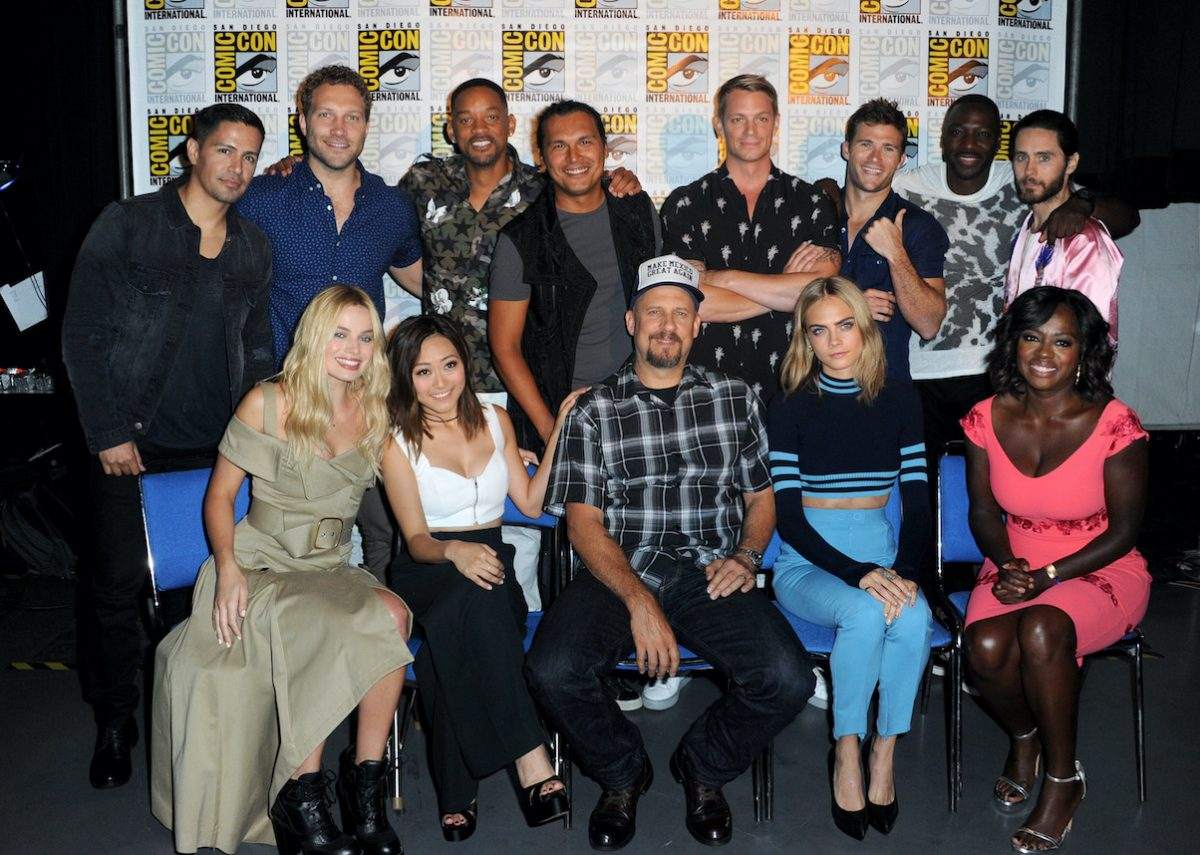 'Suicide Squad' cast and director at Comic-Con