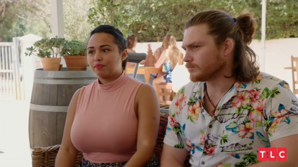 Tania Maduro and Syngin Colchester in '90 Day Fiancé: Happily Ever After'