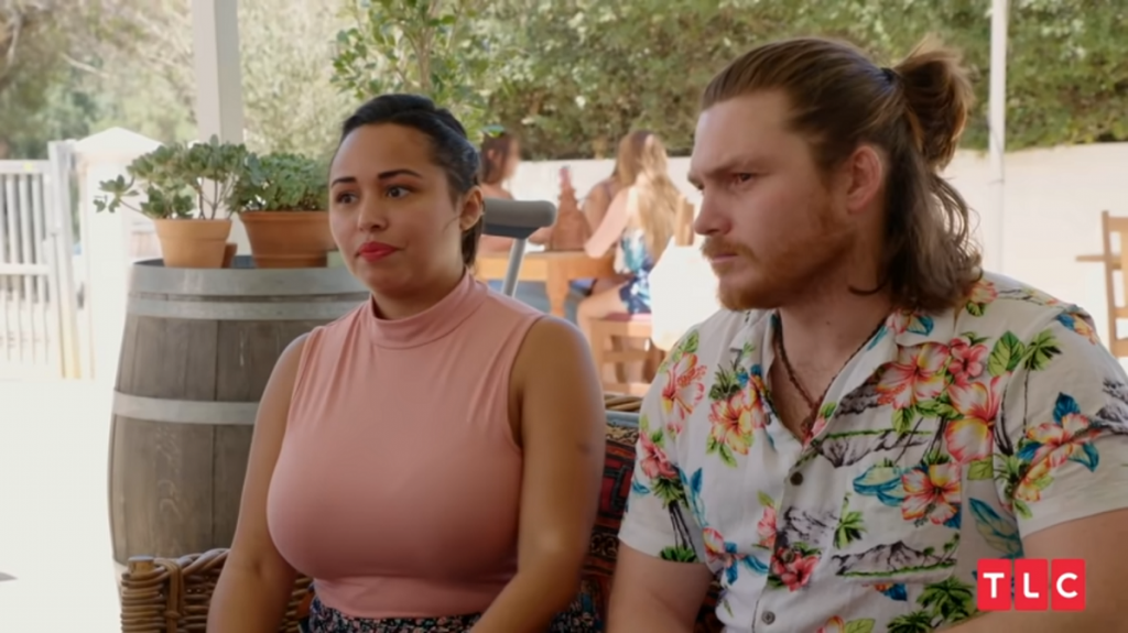 Tania Maduro and Syngin Colchester in '90 Day Fiancé: Happily Ever After '