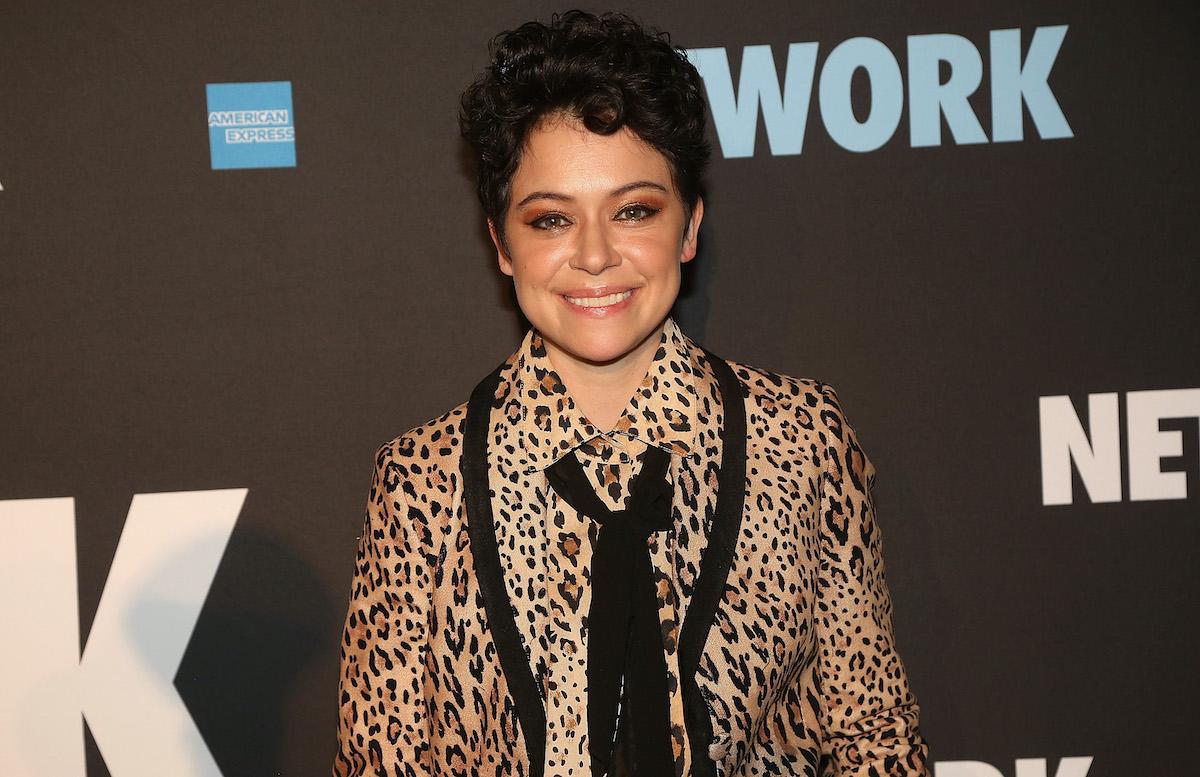 Tatiana Maslany on the red carpet