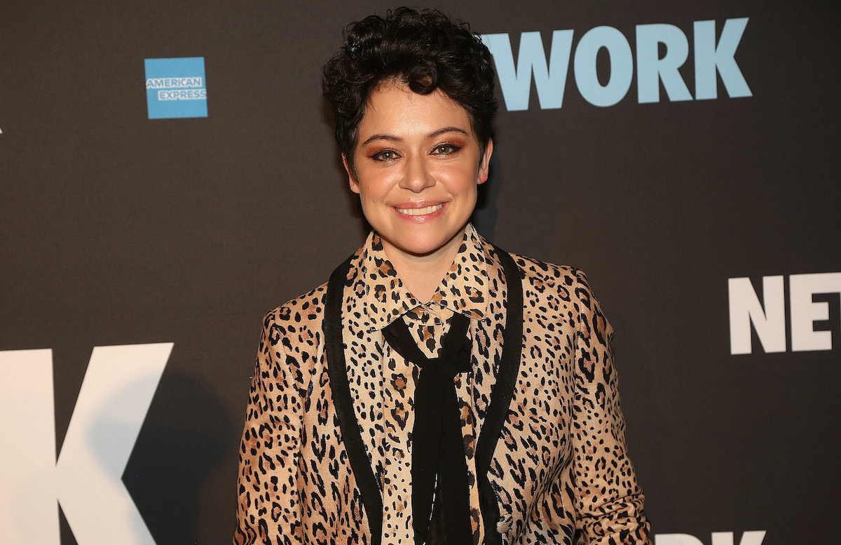 Tatiana Maslany on the red carpet