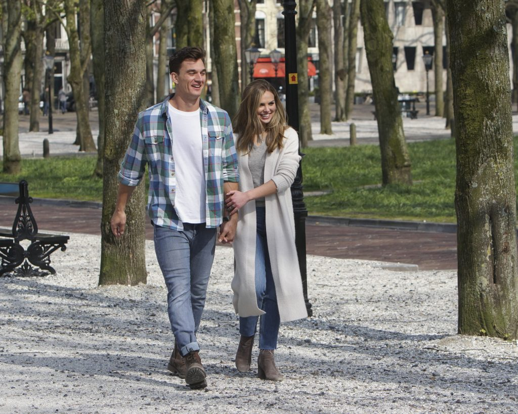 'The Bachelorette' Tyler Cameron and Hannah Brown