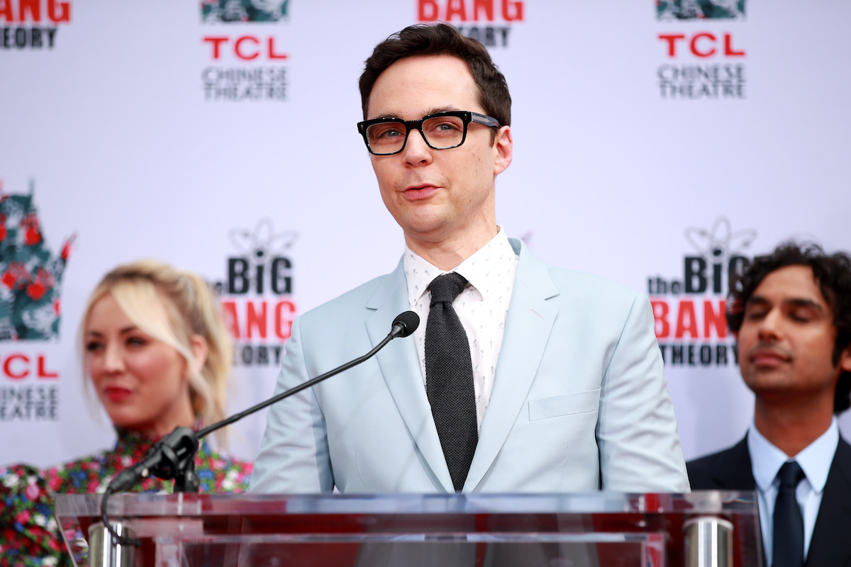Jim Parsons and the cast of 'The Big Bang Theory'