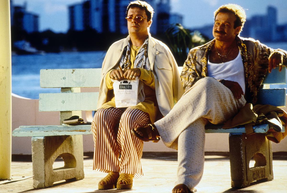 Nathan Lane and Robin Williams